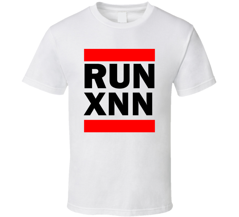 Run XNN China      Funny Graphic Patriotic Parody T Shirt