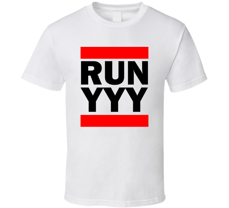 Run YYY Quebec Canada     Funny Graphic Patriotic Parody T Shirt