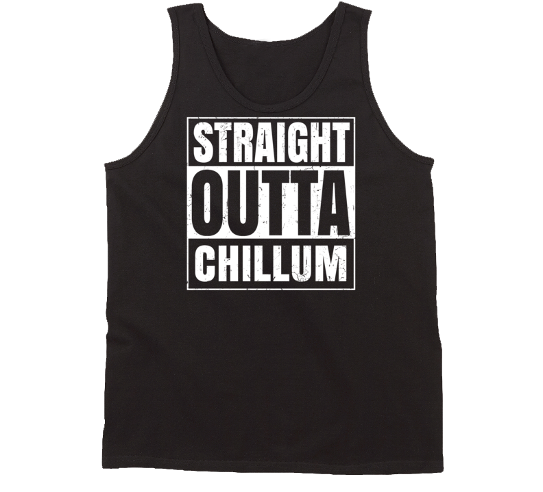 Straight Outta Chillum Maryland Parody Grunge City Tanktop
