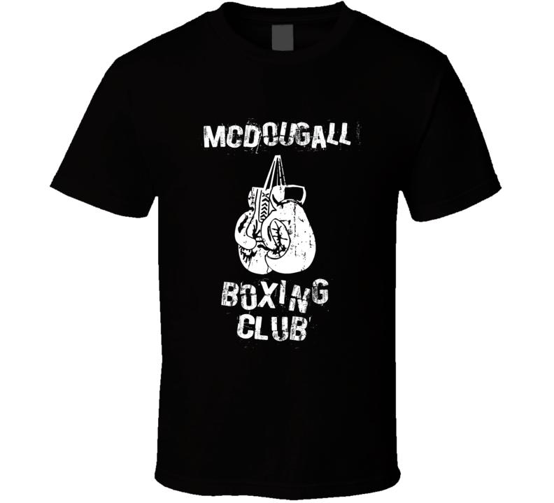 Mcdougall USA Boxing Club T Shirt