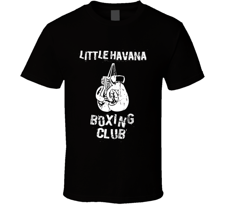 Little Havana USA Boxing Club T Shirt