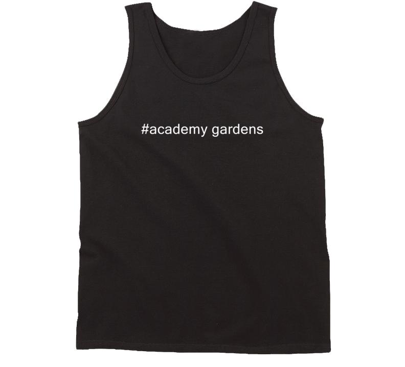 #academy gardens USA Hashtag Tanktop