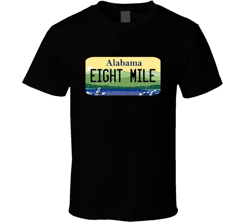 Eight Mile Alabama: Eight Mile Alabama Custom City License Plate Customizable