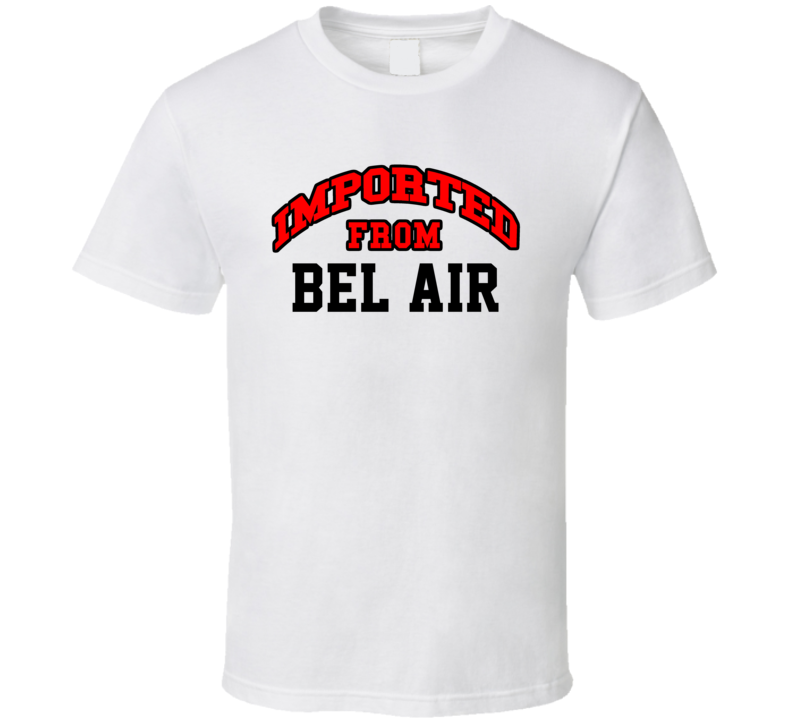 Imported From Bel Air Maryland Sports Team Trade Cool T Shirt