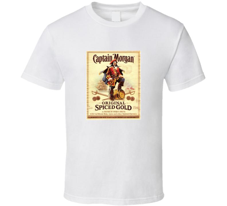 Captain Morgan Spice Rum T Shirt