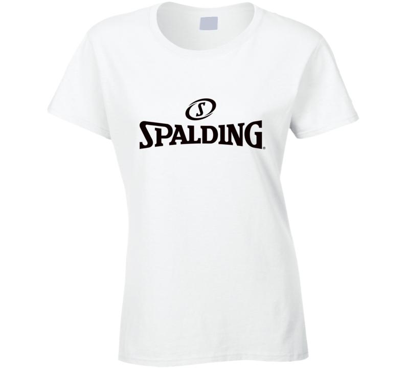 Spalding Basketball Ladies T Shirt
