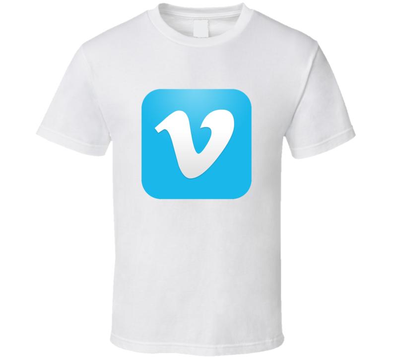 Vimeo Logo T Shirt