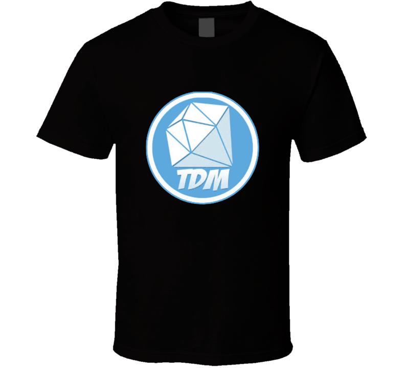 Dantdm Youtuber Logo T Shirt