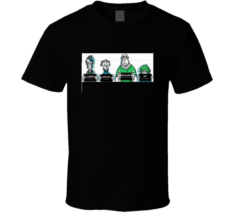 Lorem Ipsum Coding Parody T-shirt
