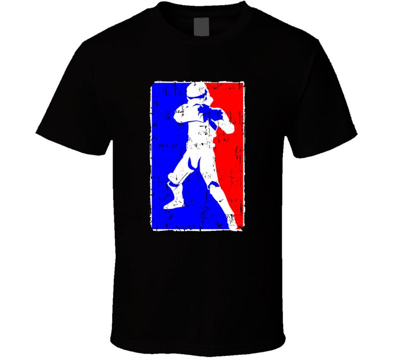 Starm Troopers Logo Parody Grunge T-shirt