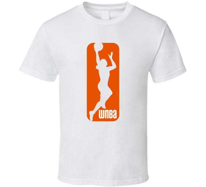 Wnba Basketball Logo T-shirt
