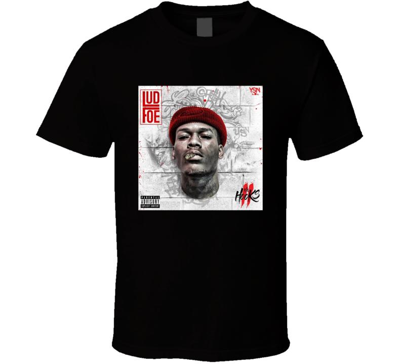 Lud Foe No Hooks 2 Album Cover T-shirt