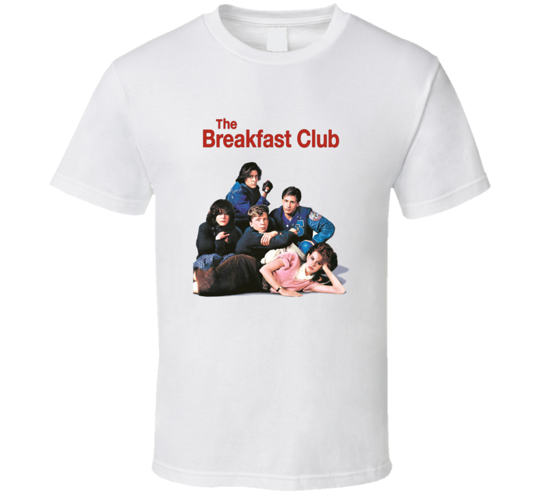 The Breakfast Club Movie Poster Cover T-shirt