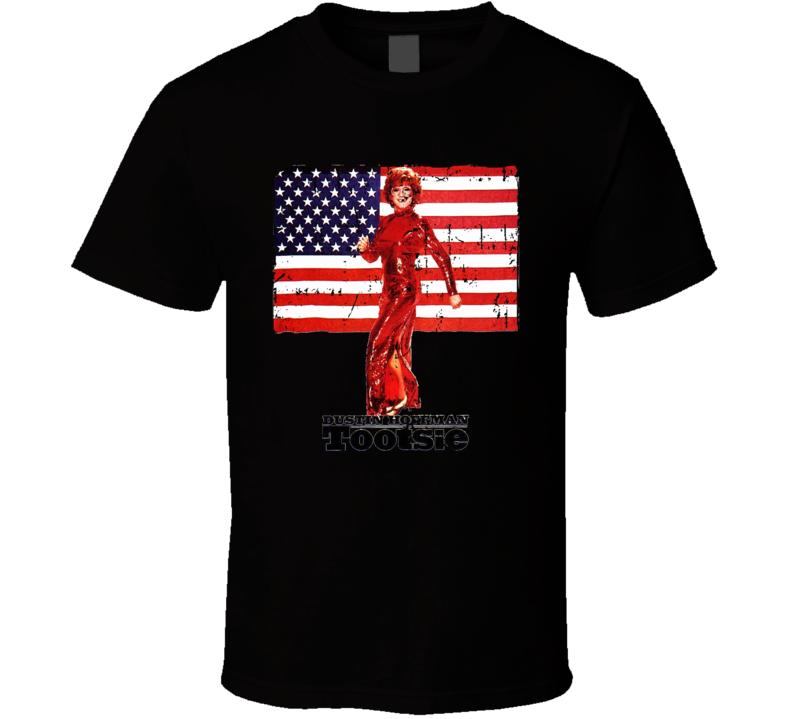 Tootsie Dustin Hoffman Classic Movie Grunge T-shirt
