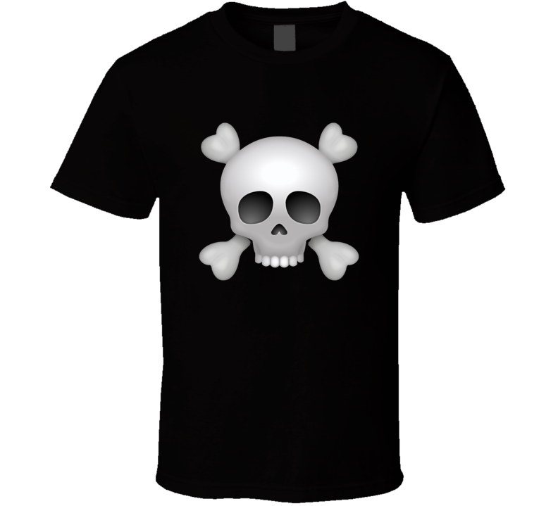 Iphone App Skull T-shirt