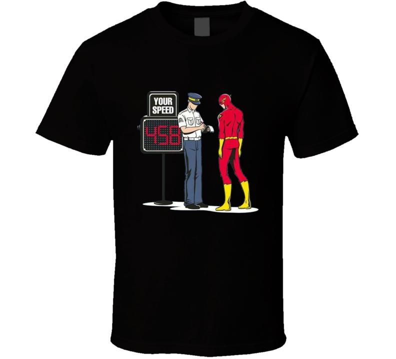 Flask Ticket Parody T-shirt