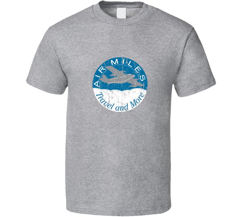 Air Miles Travel Rewards T Shirt