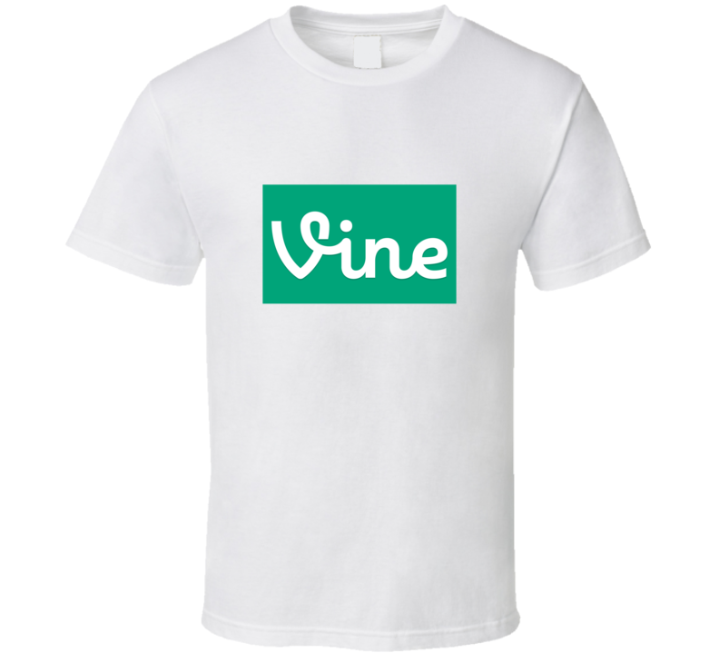 Vine Logo T Shirt