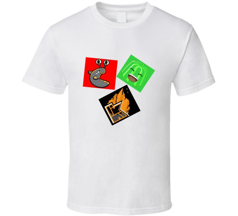 Slogoman, kwebbelkop, Jelly Youtubers T Shirt