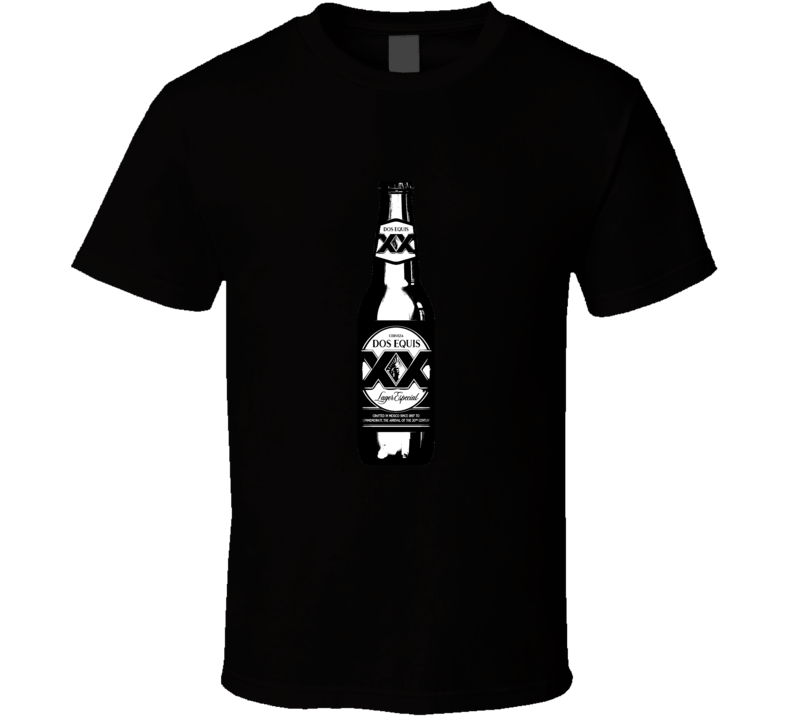 Dos Equis Bottle Brands Cartoon T Shirt