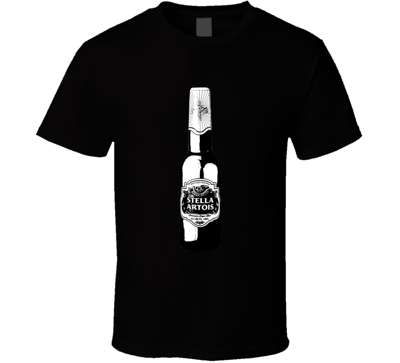 Stella Bottle Brands Cartoon T Shirt