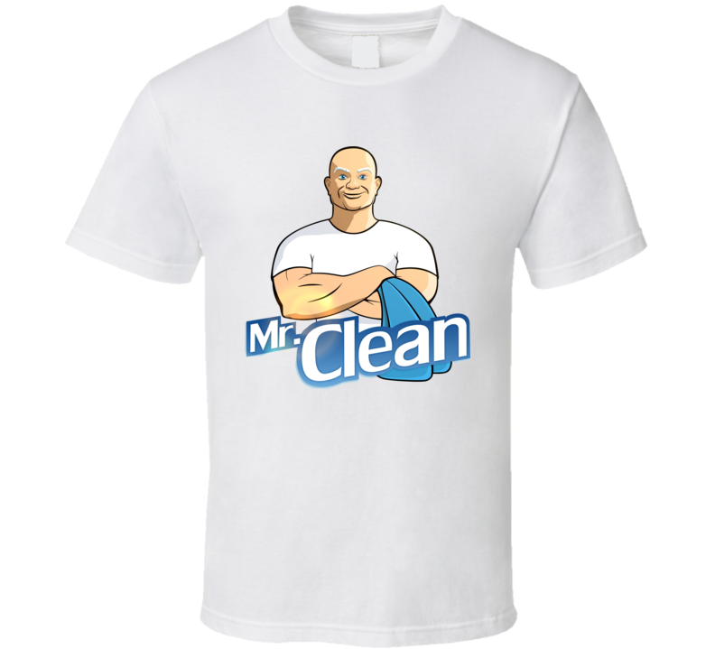 Mr. Clean Cleaning T Shirt