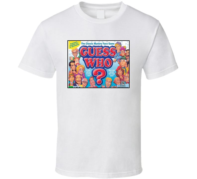 Guess Who Board Game T Shirt
