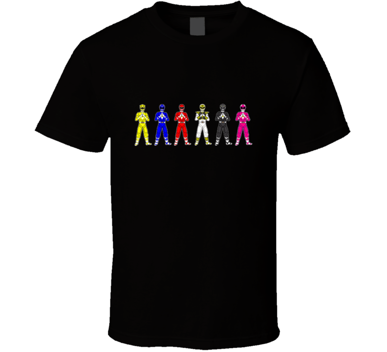 Mighty Morhphin Power Rangers T Shirt