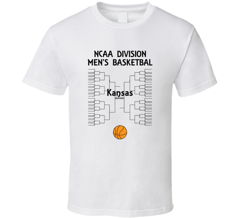 Kansas NCAA March Madness Basketball T Shirt