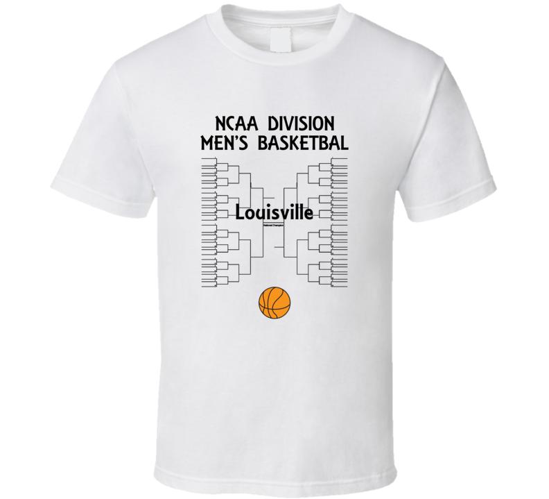 Louisville NCAA March Madness Basketball T Shirt