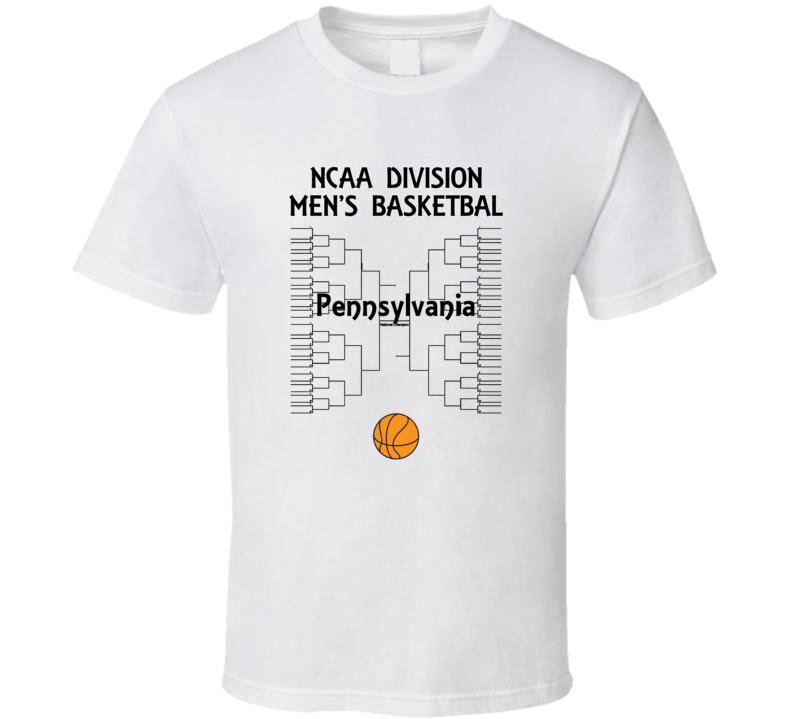 Pennsylvania NCAA March Madness Basketball T Shirt