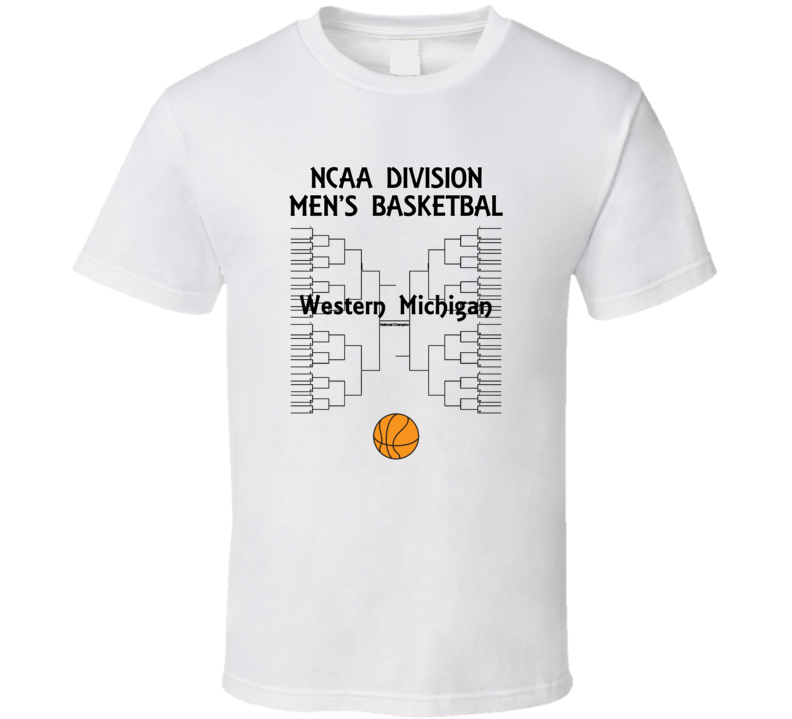 Western Michigan NCAA March Madness Basketball T Shirt