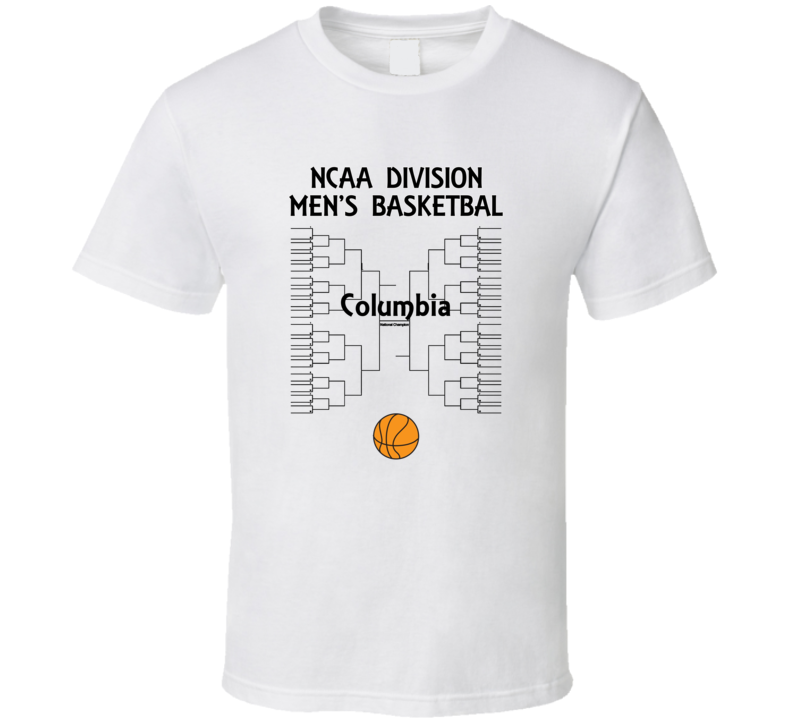 Columbia NCAA March Madness Basketball T Shirt