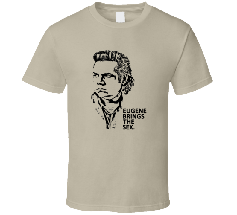 Eugene Brings The Sex Walking Dead T Shirt