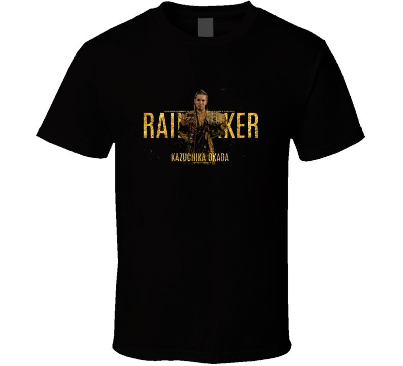 Kazuchika Okada Rain Maker T Shirt