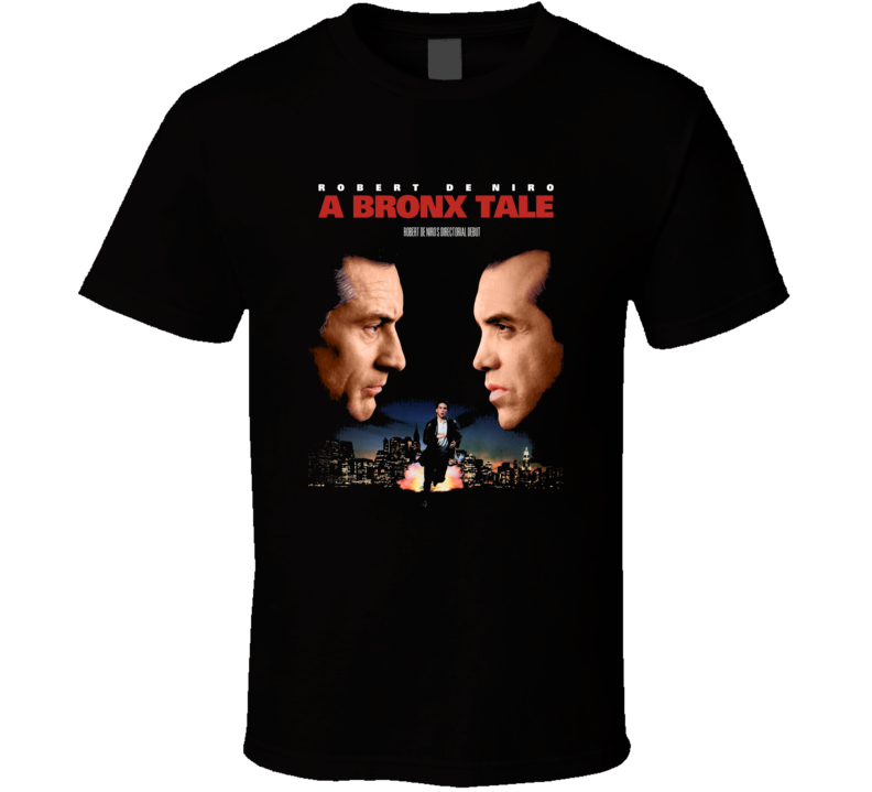 A Bronx Tale Movie Poster Fan T Shirt