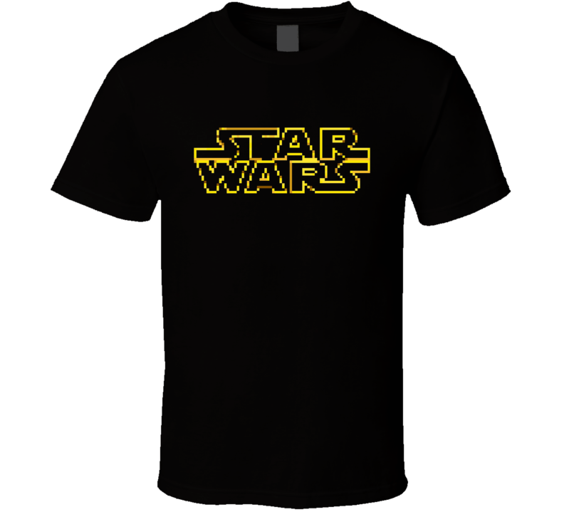 Star Wars 8 Bit T Shir T Shirt