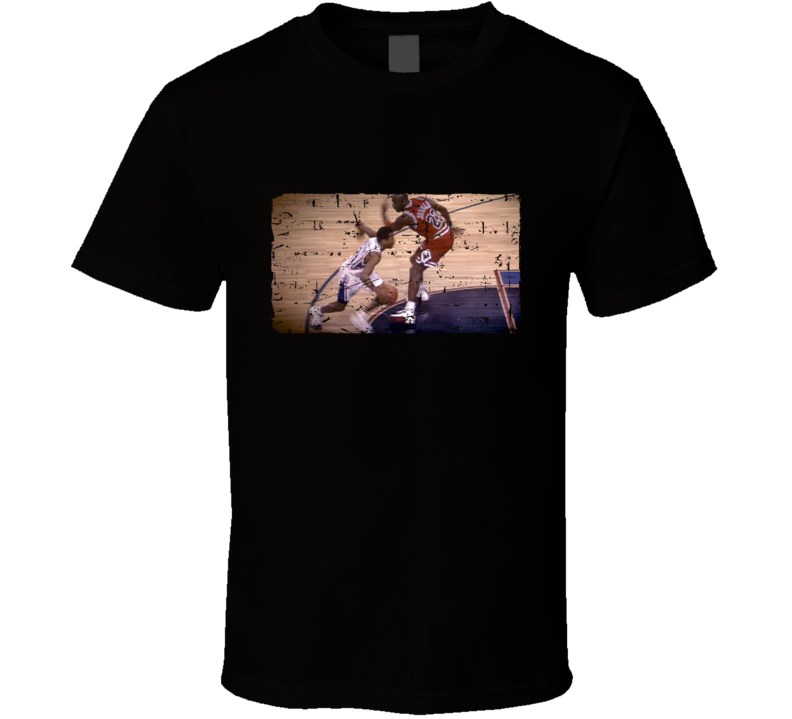 Allen Iverson Cross Over Michael Jordan Fan T Shirt