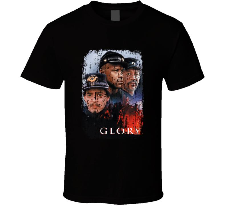 Glory Denzel Movie Poster Fan T Shirt