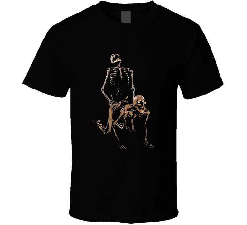 Sex Skeleton's Doggystyle Parody T Shirt