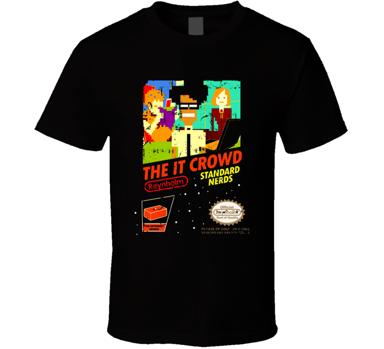 The It Crown Nes Game Cover Grunge T Shirt