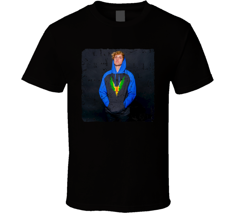 Logan Paul Maverick Grunge T-shirt