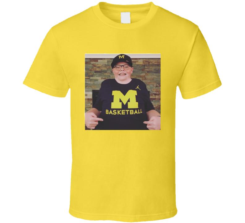 Jude Stamper Michigan Basketball T-shirt