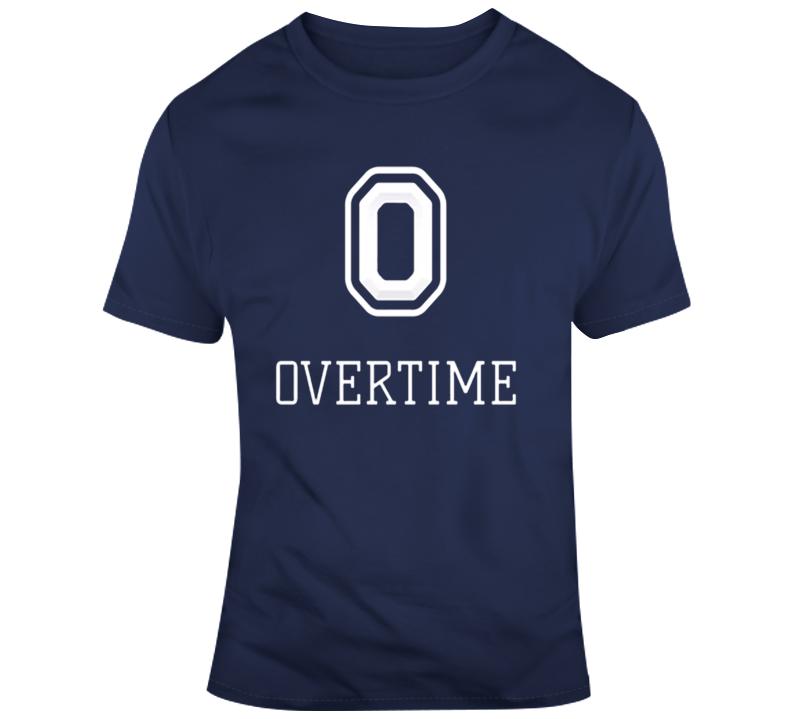 Overtime Logo Basketball T Shirt