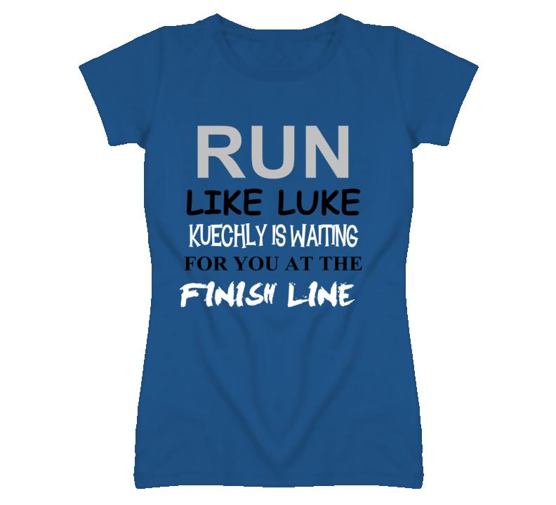 brand new f8ab6 bc75e Luke Kuechly Charlotte North Carolina Run Inspiration Loves T Shirt