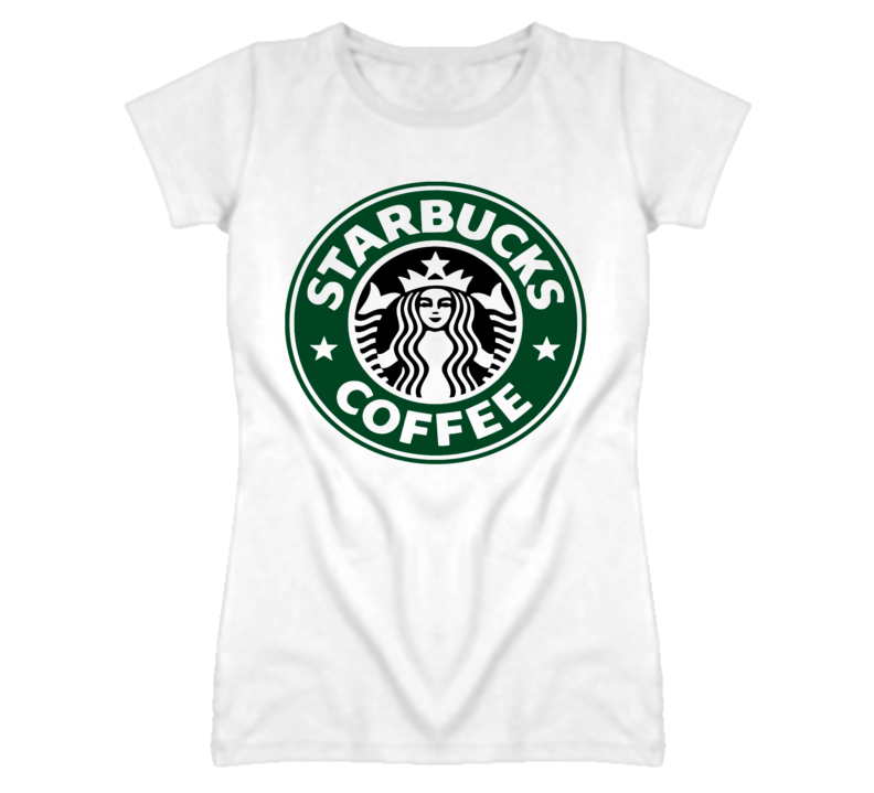 Men T Shirt Starbucks coffee America Vintage Black short sleeve Men Ladies