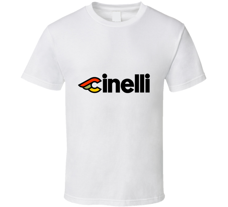 Vintage Classic Cinelli Logo Decal T-Shirt - Cycling