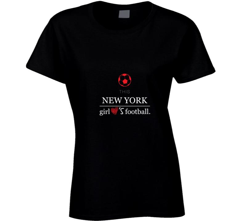 New Yorker Footballer Women T-shirt