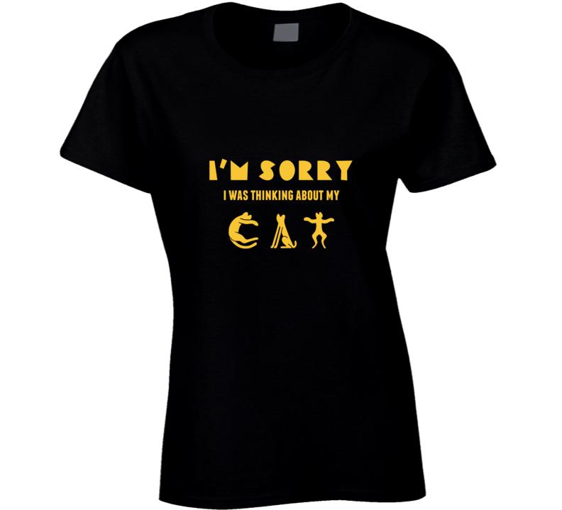 Cat love me women t-shirt