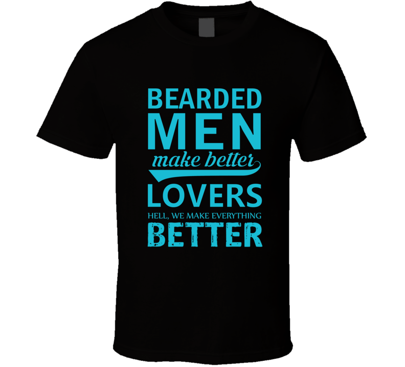 bearded sexy men t-shirt